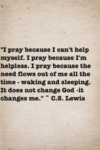 prayerCSlewis