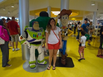 Me with Buzz and Woody, lego style