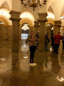 Center of Washington DC inside the Capitol Building