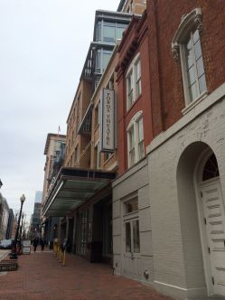 Ford's Theatre, where Lincoln was shot