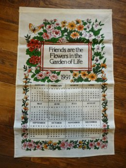 A tea towel from the year of Jessica's birth is the sweetest sentimental gift for our new kitchen! http://www.etsy.com/registry/MTYwNjk3Mnw3OTAxNzc1/